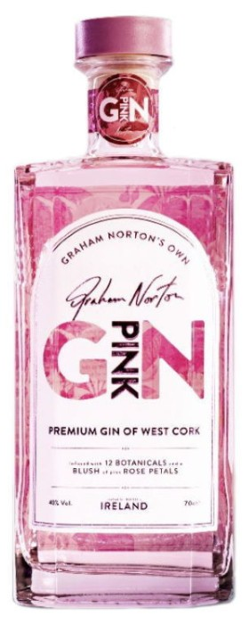 Graham Norton Pink Gin 700ml
