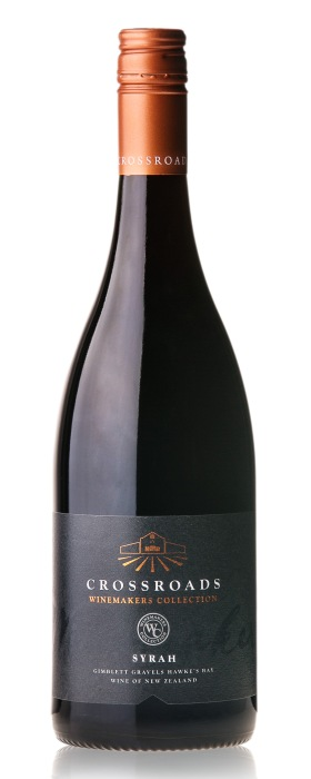 Crossroads Winemakers Collection Hawkes Bay Syrah 2014