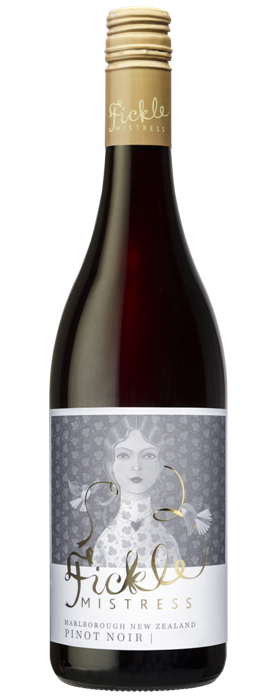 Fickle Mistress Marlborough Pinot Noir 2018