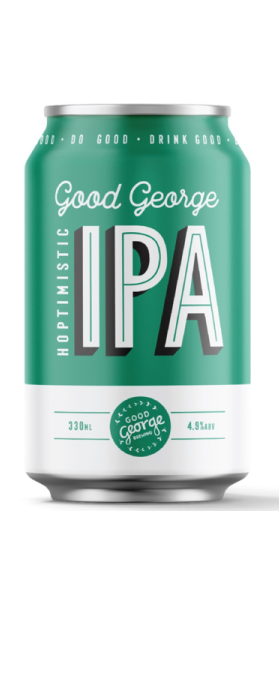 Good George Hoptimistic IPA 330ml
