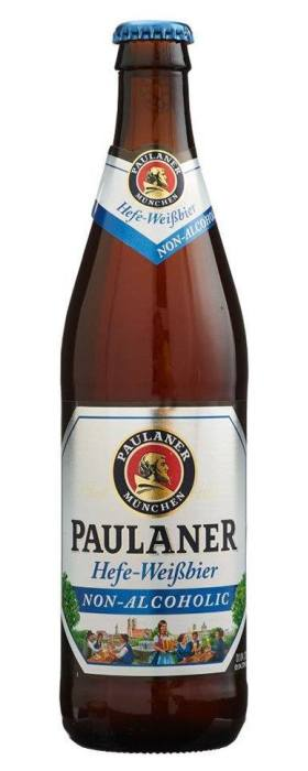 Paulaner Hefe Weissbier Low Alcohol