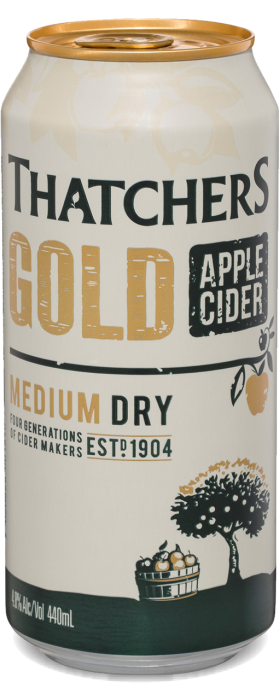 Thatchers Gold Apple Cider 440ml